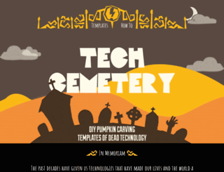 tech-cemetery.com screenshot