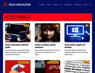 tech-magazine.it screenshot