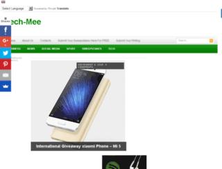 tech-mee.com screenshot