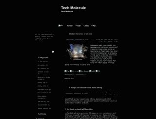 tech-molecule-ezblogger.blogspot.com screenshot