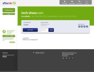 tech-show.com screenshot