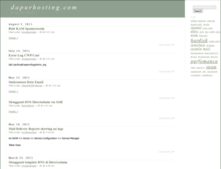 tech.dapurhosting.com screenshot