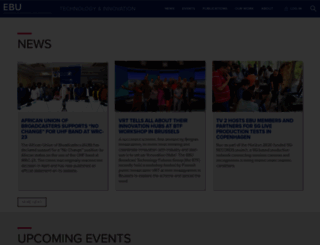 tech.ebu.ch screenshot