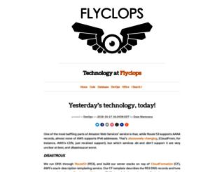 tech.flyclops.com screenshot