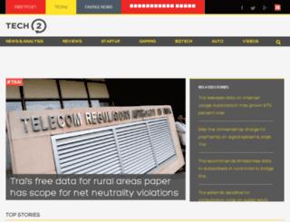 tech2.in.com screenshot