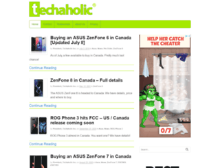 techaholic.ca screenshot