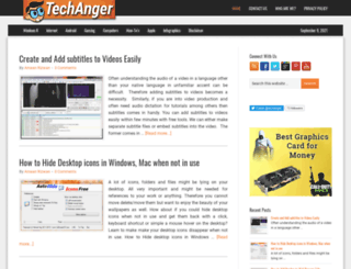 techanger.com screenshot