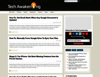 techawakening.org screenshot