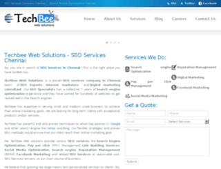 techbeewebsolutions.com screenshot