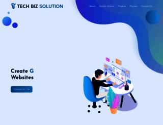techbizsolution.co.in screenshot