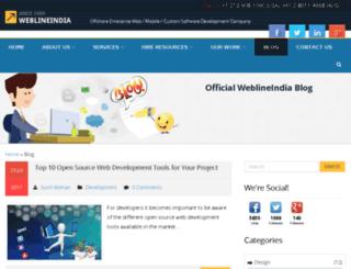 techblog.weblineindia.com screenshot