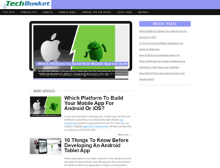 techbusket.com screenshot