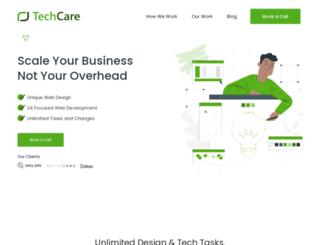 techcarebd.com screenshot