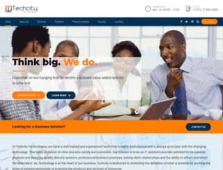 techcityghana.com screenshot