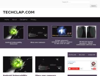 techclap.com screenshot