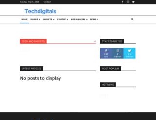 techdigitals.com screenshot