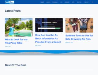 techdoze.net screenshot
