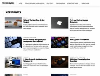 techdrunk.com screenshot