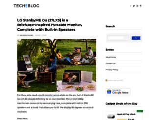 techeblog.com screenshot