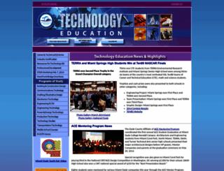 teched.dadeschools.net screenshot