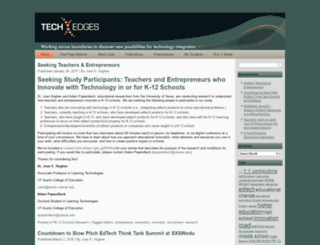 techedges.org screenshot