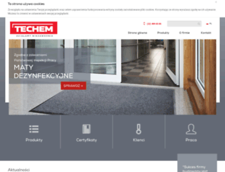 techem.com.pl screenshot