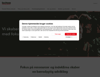 techem.dk screenshot