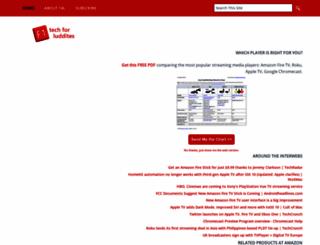 techforluddites.com screenshot