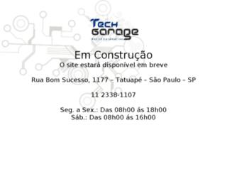 techgarage.com.br screenshot