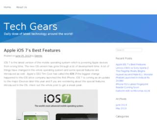 techgears.in screenshot