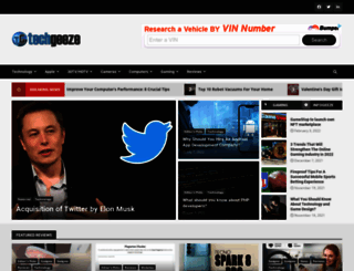 techgeeze.com screenshot