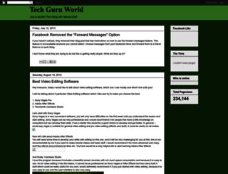 techguruworld.blogspot.com screenshot