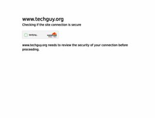 techguy.org screenshot