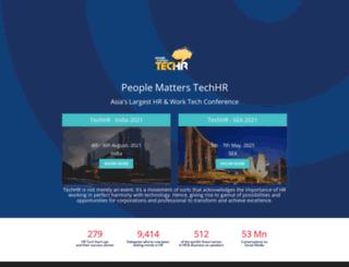 techhrconference.com screenshot