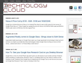 techicloud.blogspot.com screenshot