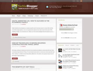 techieblogger.com screenshot