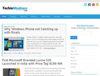 techiemadness.com screenshot