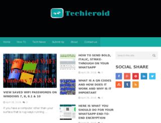 techieroid.com screenshot