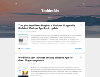 techiesbin.blogspot.com screenshot