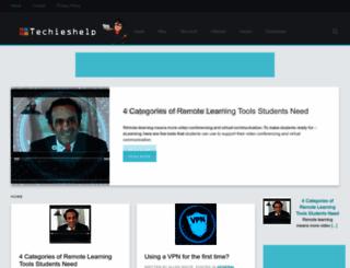 techieshelp.com screenshot