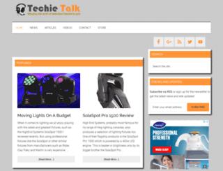 techietalk.co.uk screenshot