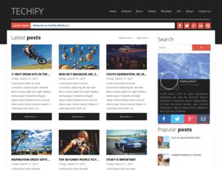 techifytemplateify.blogspot.com screenshot