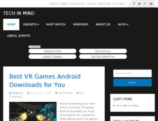 techinmind.com screenshot