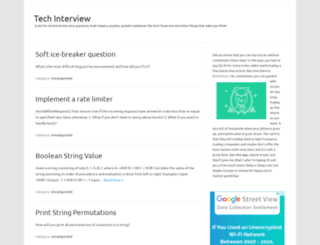 techinterview.org screenshot