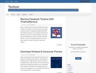 techizer.blogspot.com screenshot