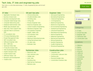 techjob.tech screenshot