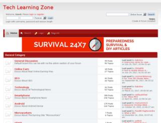 techlearningzone.createaforum.com screenshot