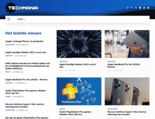 techmania.nl screenshot