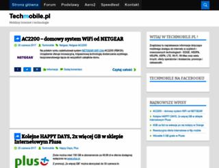 techmobile.pl screenshot
