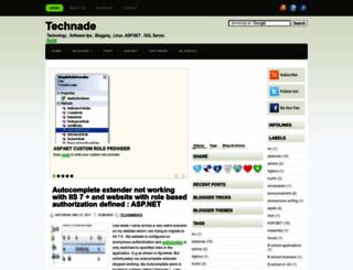 technade.com screenshot